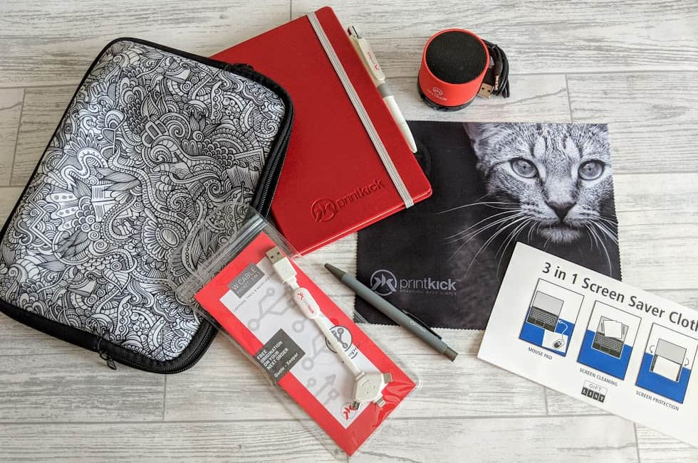 Promotional Merchandise from Printkick – A Review