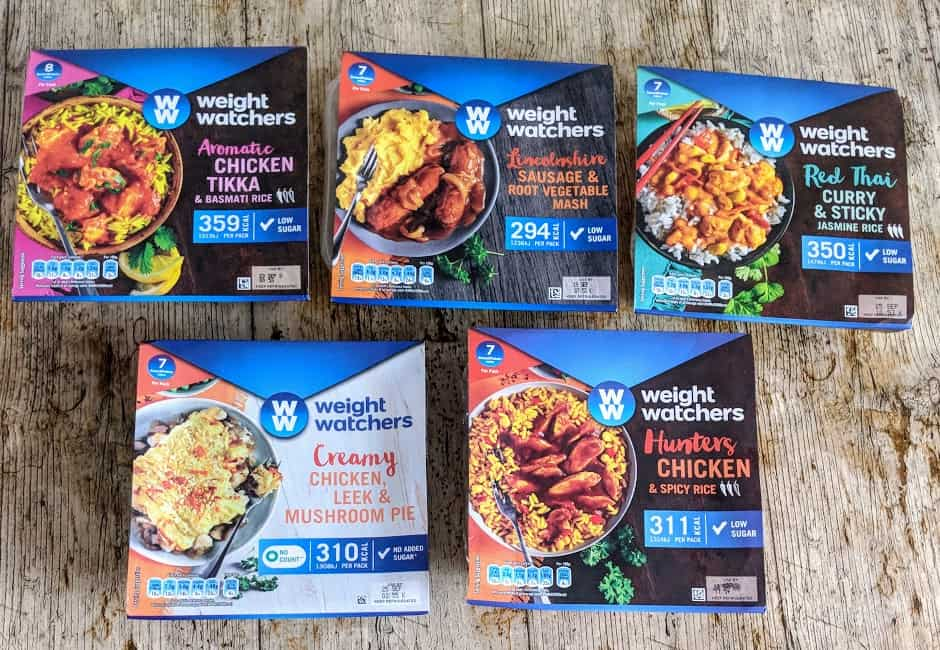 Weight Watchers Microwave Ready Meals A Review
