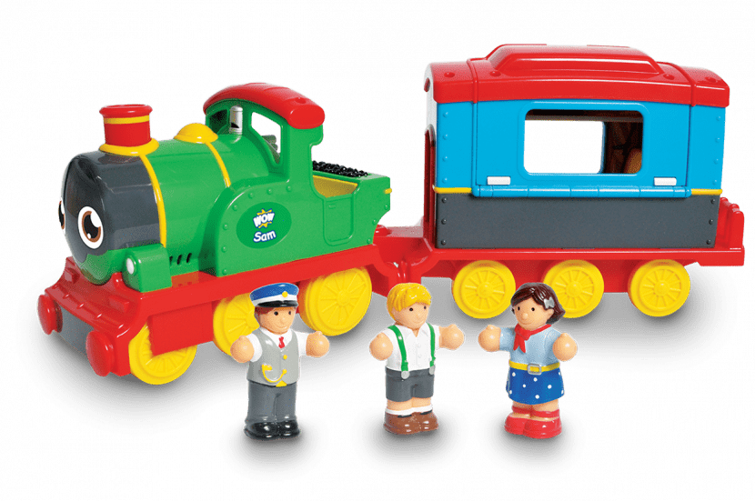 Win Sam the Steam Train Toy from WOW RRP £34.99