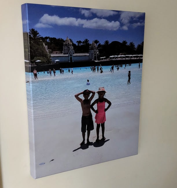 Tesco Photo Canvas Print – A Review