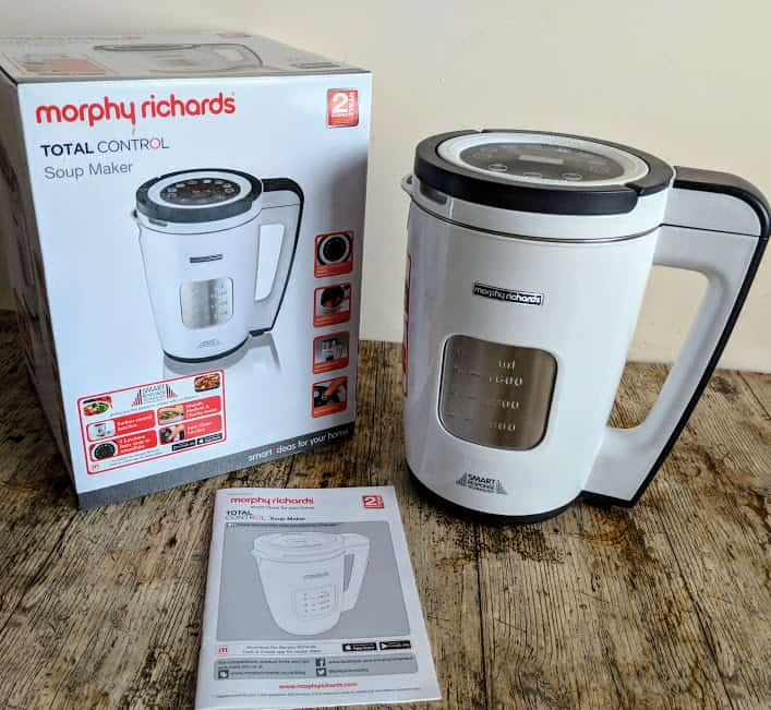 Morphy Richards Total Control Soup Maker from AO – A Review