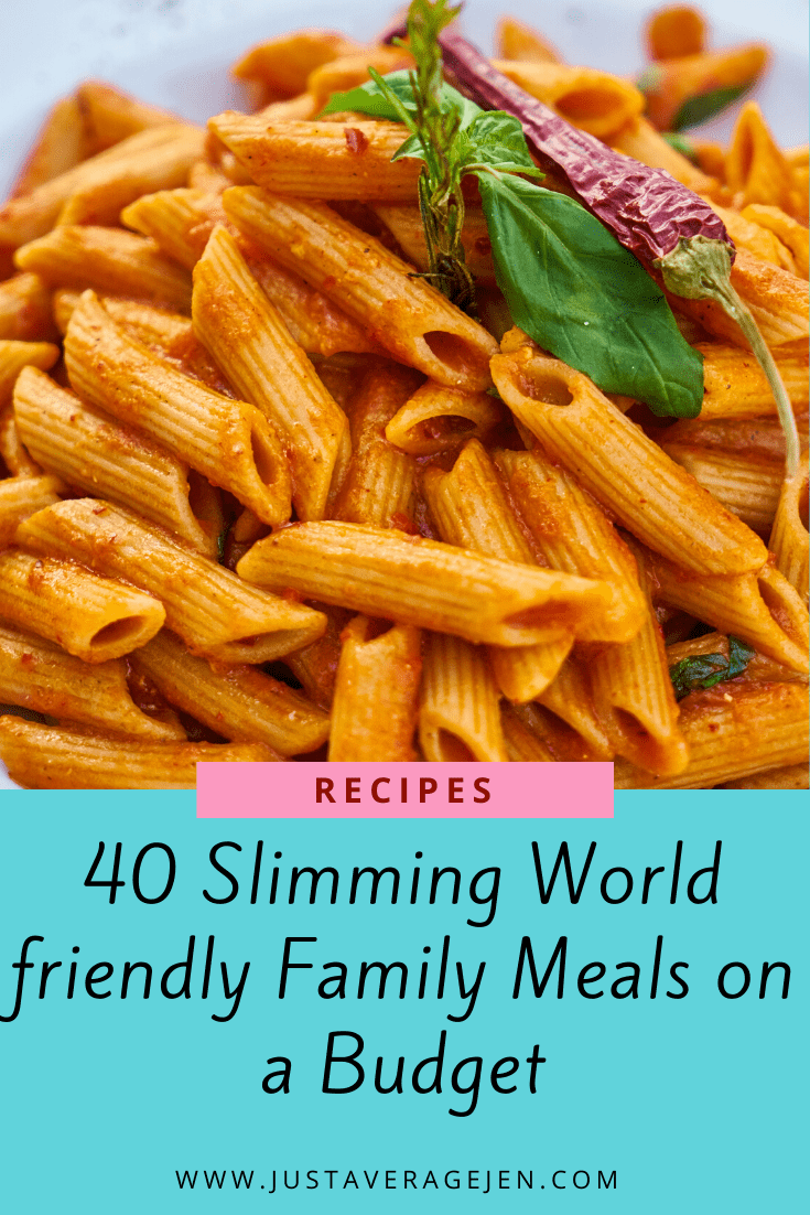 40 Slimming World Friendly Family Meals On A Budget
