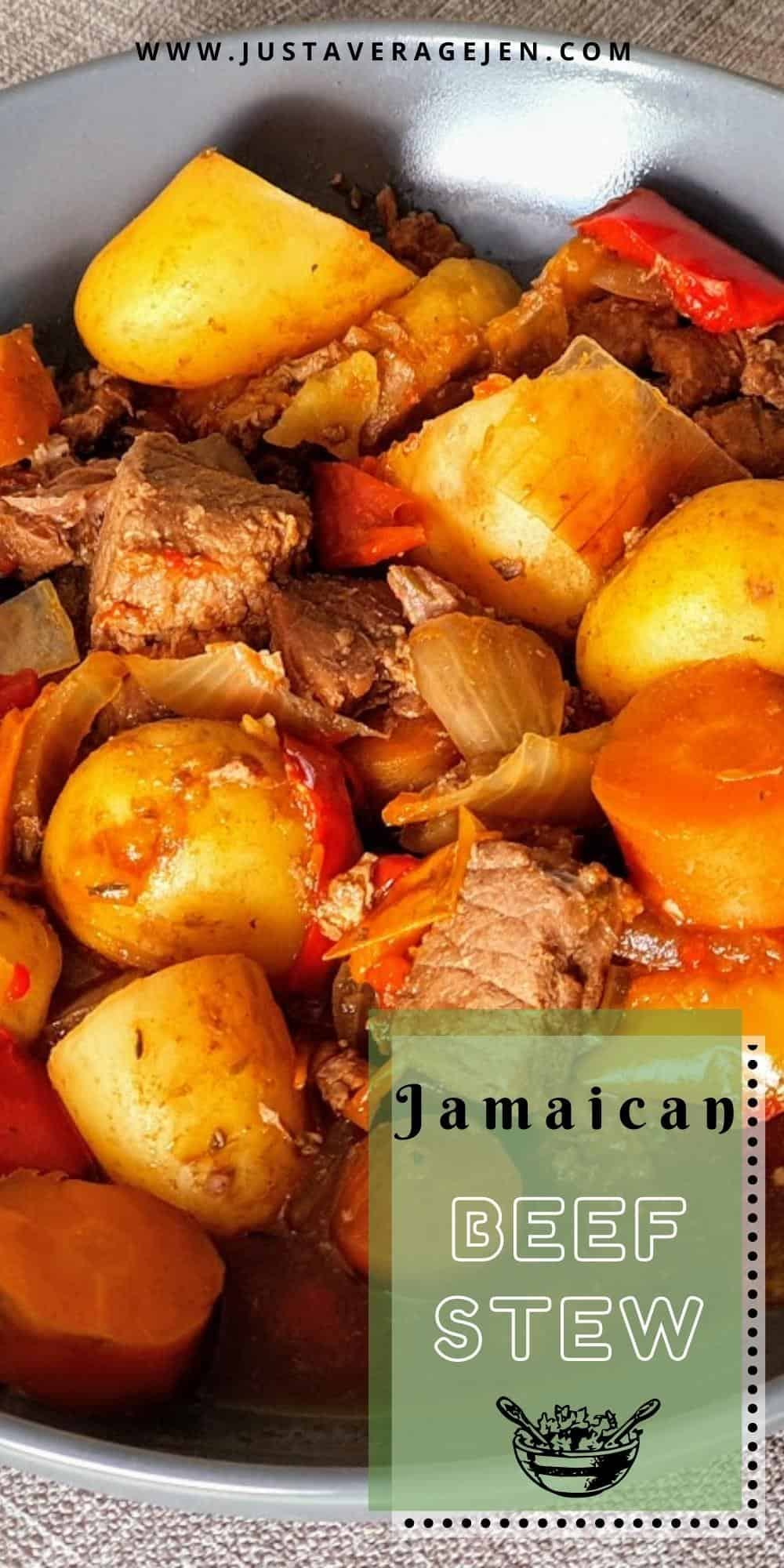 A Delicious Slimming World Jamaican Beef Stew Made In The Slow Cooker