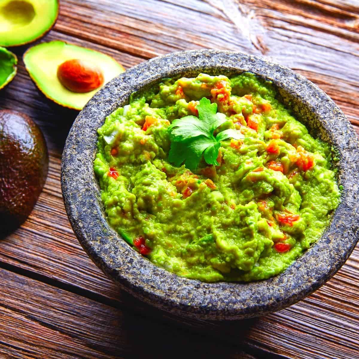How to make guacamole on Slimming World